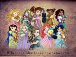 Children Princesses 2011 Collection by MoonchildinTheSky
