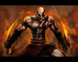 Kratos vs... by Ninjatic
