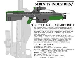 Orbiter Mk.II Assault Rifle by AdmiralSerenity