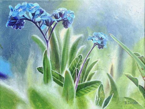 Forget-Me-Not by BLundeArt