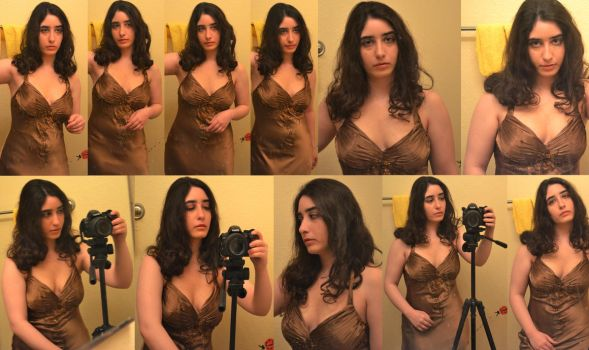 Deanna Dunn-Corleone Costume Test by Sarahfina-Rose