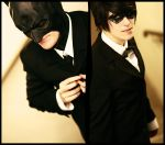 batman and robin suit 2 by XMenouX