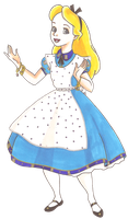 Disney Glamour 1951 Alice by Sil-Coke