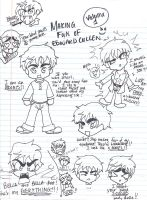 Making Fun of Edward SKETCHES by inulover411