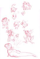 here have some pokemans by VCR-WOLFE