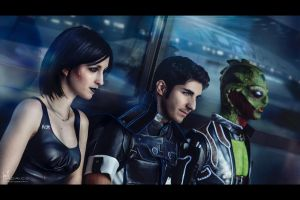 Mass Effect: Into the Inevitable by Hidrico