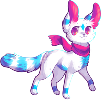 [AT] Frosty-Kitteh by hunniebuzz