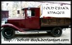 Old Truck by defroit-stock