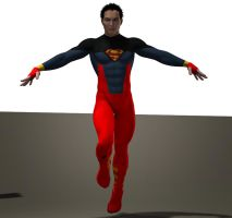 Superboy second skin textures for M4 by hiram67