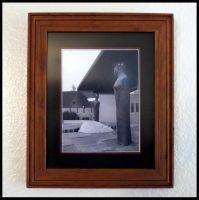 My Framed Artwork - Perspective by LyraAlluse