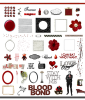 True Blood / Vampire: Word Art and Clear Cut PNG 3 by Riogirl9909stock