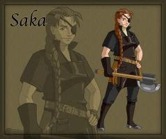 Saka the Blacksmith by ArofaTamahn