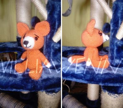 Amigurumi Fox n.2 by Villiawenn
