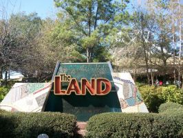 EPCOT: the Land sign by wilterdrose-stock
