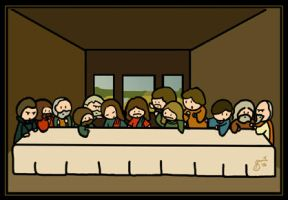 The Last Supper by cippow25