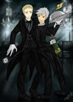 Germancest makes one hell of a Butler. FINAL VER. by patty110692