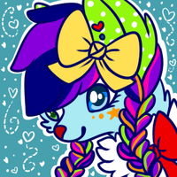 Ribbon Stick Headshot Icon by Kiwicide