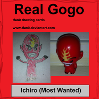 Ichiro - Most Wanted (Tfan0 Drawing Card #17) by tfan0
