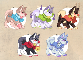 Adoptable Auction closed! (points/paypal) by windwakers