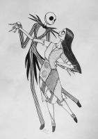 Jack and Sally by Galaad-Phantom