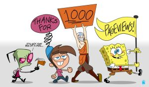 1,000 Pageviews Mini-Parade by Coonfoot