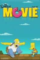 Simpsons Movie Poster Revised by Crimson-Designs