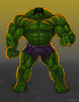 The Incredible Hulk by Kracov