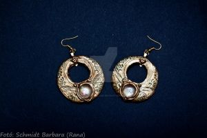 Dorne earrings by Tuile-jewellery