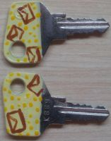 Decorated key 5 by riorval