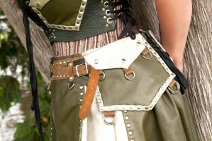 Shoptroll Skirt and Belt Pouch by Dread-Naughty