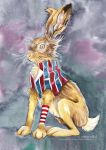 March Hare by Dragon-flame13