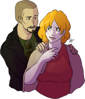 Commission: Tyler and Kim by hyperionwitch
