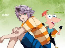 Phineas and Hope by tenchufreak
