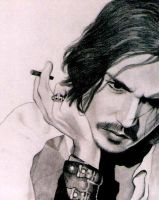 Johnny Depp 2 by PamelaKaye