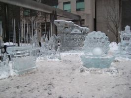 Ice Sculpture 07 by willconquers-stock