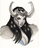 Lady Loki by PatrickFinch