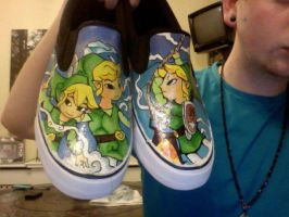 Wind Waker Shoes by HausOfXose