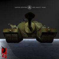 T-95 Tank Destroyer by MightyMaus1999