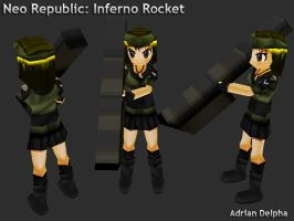 Neo Republic Inferno Rocket Infantry by DelphaDesign
