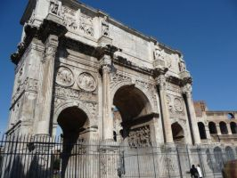 Arco di trionfo by volantchat