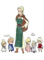 2p!Scandinavia and Nordic Kids by TheClockworkKid