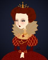 Queen Elizabeth I by ferresan