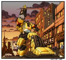 Sunstreaker by 1DB