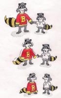Bert Raccoon Age Regression by BrunoMeles