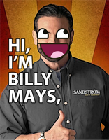 BILLY FUCKING AWESOME MAYS by A-Bicycle