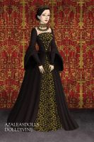 Catherine of Aragon, Court Gown by daretoswim7709