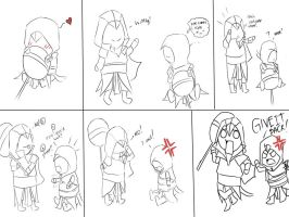 baby ezio and baby altair by AlexIbnlaAuditore08