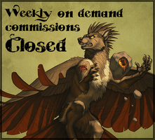 Weekly Comissions CLOSED by KatieHofgard
