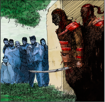 Screen grab from Kroma Issue #1 by James-Dee
