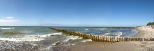 Baltic Sea - Panorama Nr. 1 by Copaz